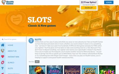 Health Games Review Best Online Slot Sites